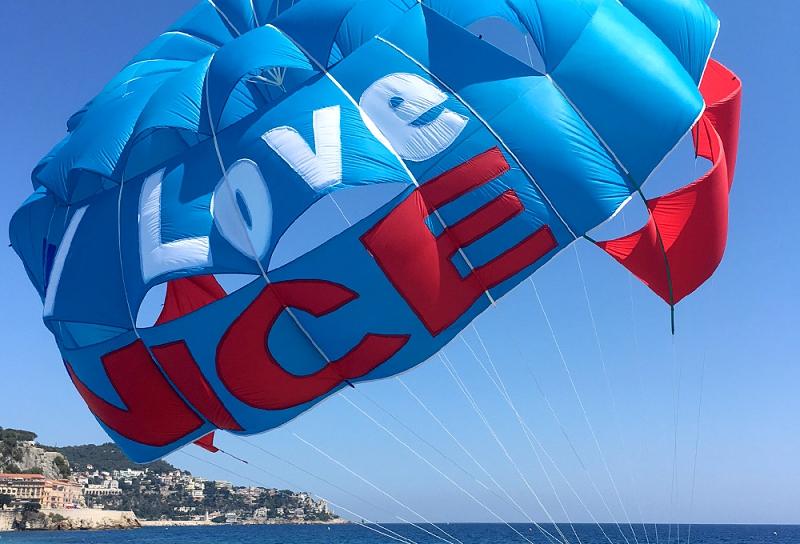Parachute ascensionnel Nice