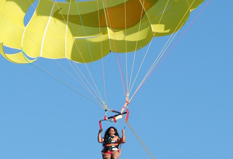 Parachute Ascensionnel Villefranche