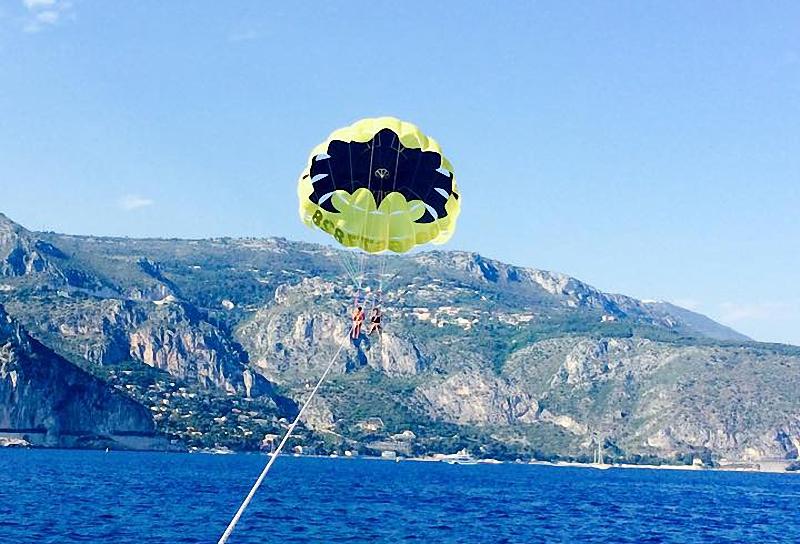 Parachute ascensionnel St-Jean-Cap-Ferrat
